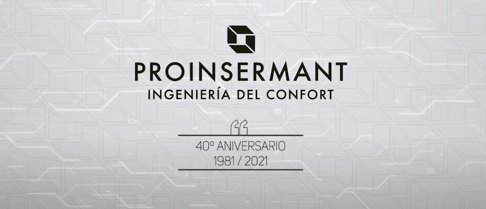 40 años PROINSERMANT